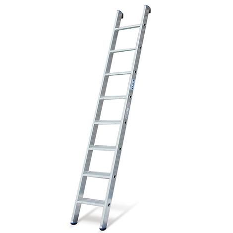 Stufen-Anlegeleiter KRAUSE ®. Arbeitshöhe bis 5,05 m