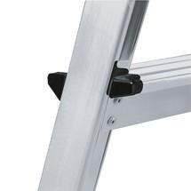 Stufen-Doppelleiter KRAUSE®, 2-seitig begehbar