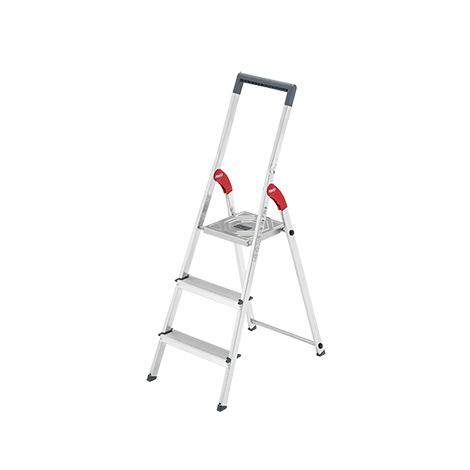 Stufen-Stehleiter Hailo ® ProfiStep mit Plattform + Eimerhaken
