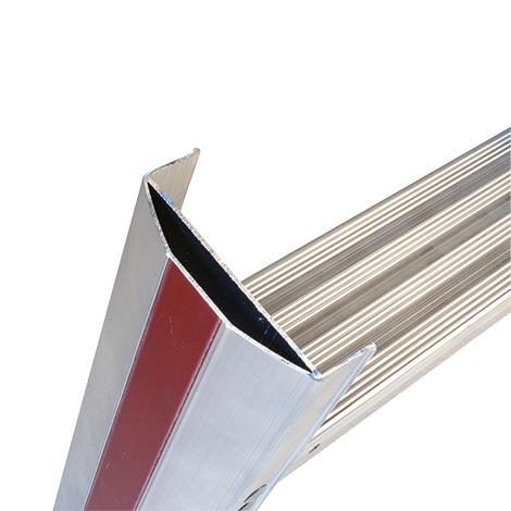 Stufen-Stehleiter HYMER ® Premium. Beidseitig besteigbar