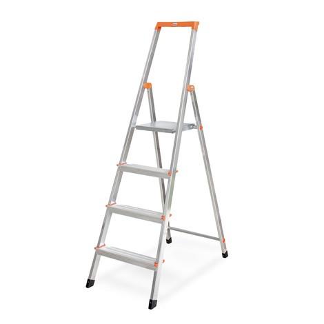 Stufen-Stehleiter KRAUSE®, 1-seitig, mit Hightech-Gelenkverbindungen