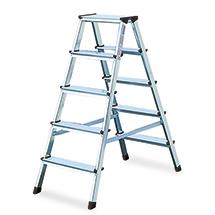 Stufen-Stehleiter KRAUSE ®. Genietete Stufen, beidseitig besteigbar