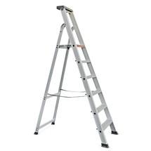 Stufen-Stehleiter, mit eloxierter Schutzschicht, 1-seitig
