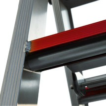 Stufen-Stehleiter, mit eloxierter Schutzschicht, 2-seitig