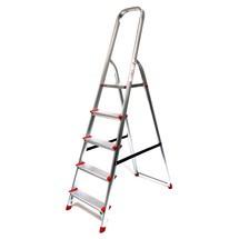 Stufen-Stehleiter mit Plattform und Bügel, 1-seitig