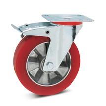 Stuurwiel Wicke® van soft-polyurethaan met vastzetrem. Capaciteit 200- 300 kg