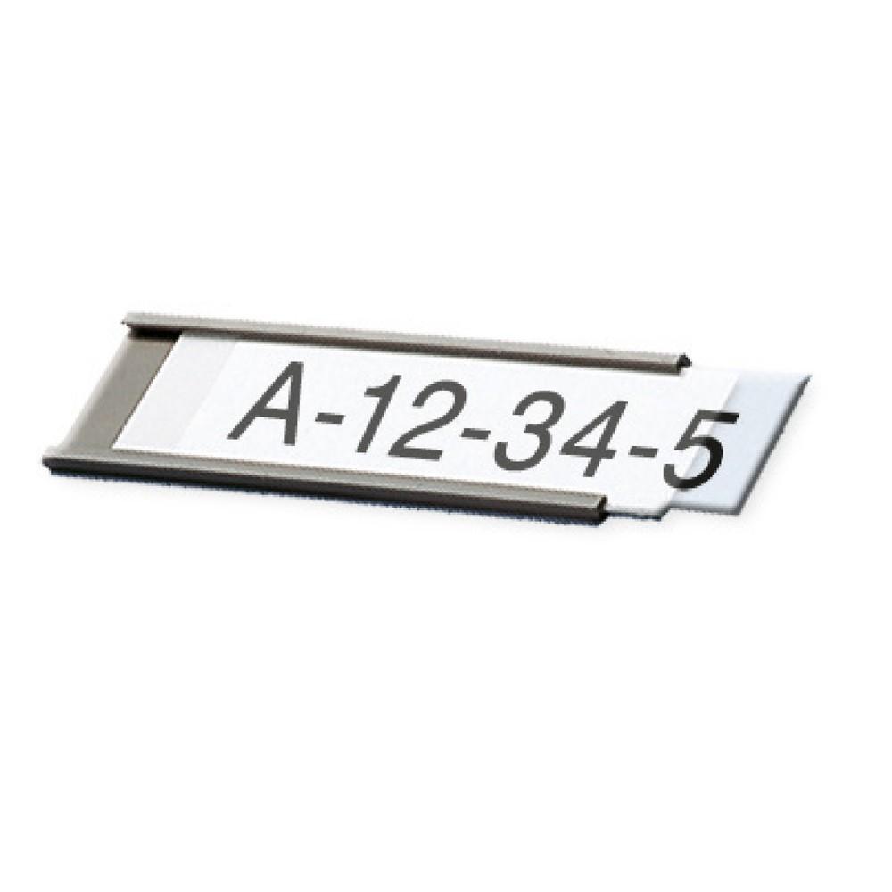 Suporte de etiqueta com perfil C, magnético