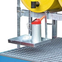 Suporte de lata para sistema de prateleira de barril modular
