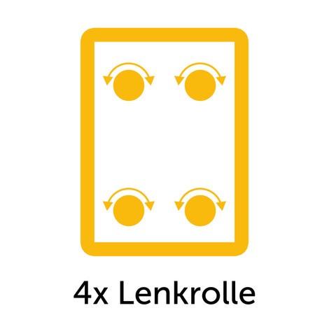 Supplément pour 4 roues directrices pour servante d atelier fetra ... 6474a7d32b50