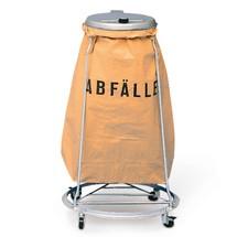Support pour sac poubelle empilable