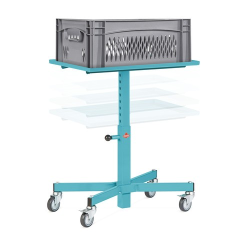 Supporto per materiale Ameise®, regolabile in altezza