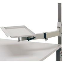 Swivel arm for workstation system
