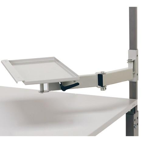 Swivel arm for workstation system