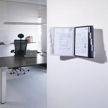 Système de pochettes transparentes SHERPA®, support mural