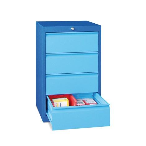 Szafa z szufladami PAVOY, wysokość 800 mm, szuflady 4 x 175 mm, szerokość 500 mm
