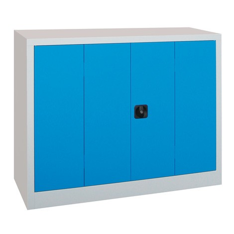 Szafa ze składanymi drzwiami PAVOY z 2 półkami, wys. xszer. xgł. 1000 x1200 x400 mm