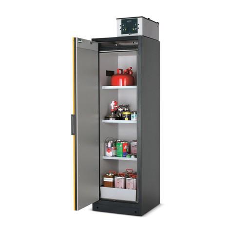 szafka bezpieczeństwa asecos® Q-Pegasus/typ 90, 4 szuflady wysuwane, wys. wys. x szer. x gł.. 1,955 x 600 x 615 mm