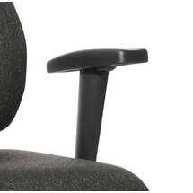 T-armstödet för den ergonomiskt vridbara stolen Topstar® X-Pander