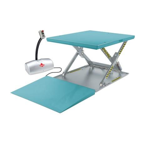 Table élévatrice à ciseaux Ameise®, plate, fermée