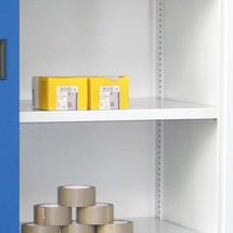Tablette pour armoire à portes coulissantes PAVOY avec regards
