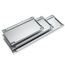 Tablette pour rayonnage à tablettes META système enfichable, charge par tablette 150 kg, galvanisée