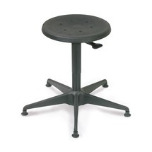 Tabouret BASIC, assise en PU