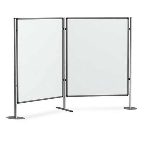 tafel f r stellwandsystem 3 in 1 magnetisches whiteboa. Black Bedroom Furniture Sets. Home Design Ideas