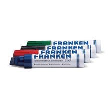 Tafelschreiber FRANKEN Jumbo Marker, 4x eine Farbe