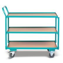 Tafelwagen Ameise®, 250 kg, omhoogstaande duwbeugel
