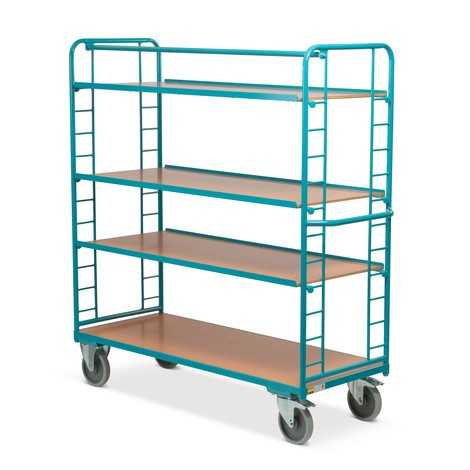 Tafelwagen Ameise®, 3 verstelbare etages van hout