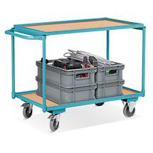 Tafelwagen Ameise®. Capaciteit 250 kg. Met 2 laadvlakken