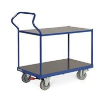 Tafelwagen Ergotruck®, gelijkliggende laadvlakken