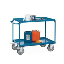 Tafelwagen fetra® met oliedichte lekbakken