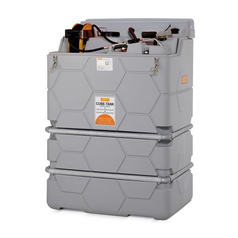 Tankanlage CEMO CUBE Indoor Premium für Schmierstoffe