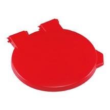 Tapa para contenedor de residuos cromada II/III