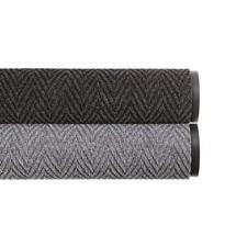 Tapete de recolha de sujidade com padrão de espinha de peixe
