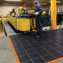Tapis antifatigue en caoutchouc nitrile