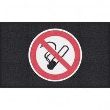Tapis avec logo m2™ « Interdiction de fumer»