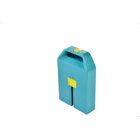 Tartalék akkumulátor elektromos raklapos tehergépkocsi Ameise® PTE 1.1 - lítium-ion, terhelhetőség 1,100 kg