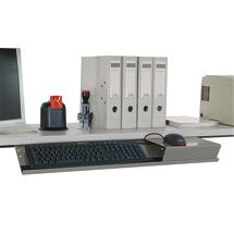 Tastatur- und Mausablage, HxBxT 20x760x210mm