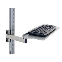Tastatur- und Mausablage mit Gelenkarm, 200x100x455