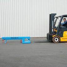 Telehandler model 2, reach up to 3,655 mm