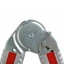 Teleskopleiter HYMER, 3-in-1 mit Gelenk