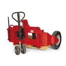 Terreinpalletwagen handhydraulisch, capaciteit 1250 kg
