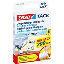 tesa® Klebepads TACK Transparent