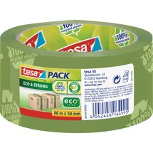 tesapack® Packbänder Eco + Strong ecoLogo®