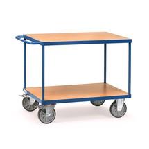 Těžký pojízdný stolek a montážní vozík fetra®