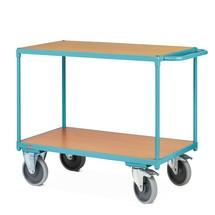 Těžký pojízdný stolek Ameise®, 2patra