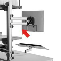 TFT Gelenkarm für Packtisch, Außenmaße mm: 200 x 100 x 455