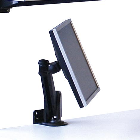 TFT-Halter, Montage an Tischplatte oder Systemträger